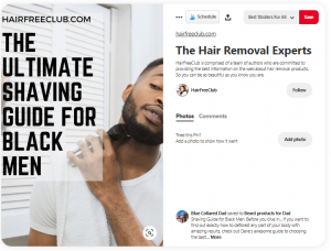 Pintrest Shavers For Black Men